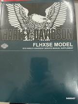 2018 Harley Davidson Flhxse Modelos Servicio Tienda Reparar Manual Suplemento De - $167.71