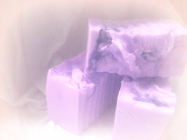 lavender goats milk soap - $4.75