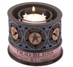 Inspirational Heartstone Votive Candle Holder with Stars - $10.95