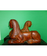 Antique Wooden Sphinx  Figures on Drawers Neo C... - $1,275.00