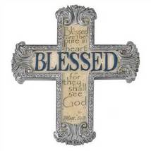 Inspirational Blessed Cross Magnet - $6.95