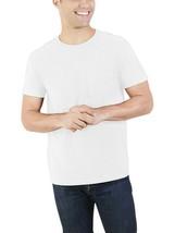 Fruit Of The Loom Men's Platinum Short Sleeve Pocket T Shirt 3XL White NEW - $10.68