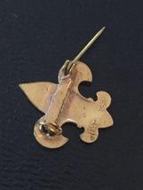 Vintage 50s Boy Scouts Emblem Uniform Pin image 5
