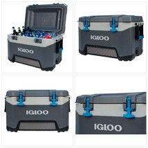 Igloo BMX 52 quart Cooler - Carbonite Gray/Carbonite Blue - $170.85