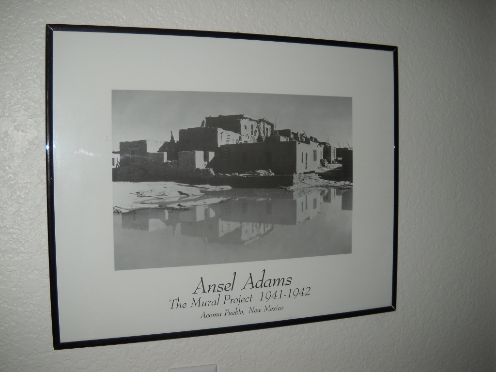 Ansel adams print framed the mural project and 50 for Ansel adams the mural project