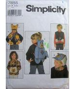 Children's Vest Hat Scarf Backpack Mittens S M L NEW - $4.99