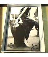 Olivier Theyskens autographed photo & blank sketchbook - $30.00