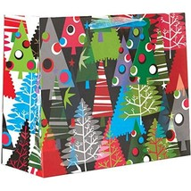 Jillson & Roberts Large Gift Bags, Neon Trees 12 Pieces - $60.67