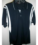 Excellent Mens Wilson Hyper Tek System Navy Tennis Polo Sizes S or M - $24.99