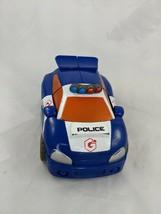 Playskool Preschool Transformers Police Car 2002 Takara - $7.95