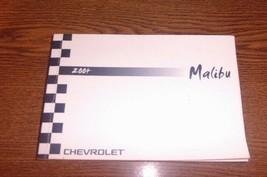 2004 Chevrolet Malibu Owner's Manual Genuine GM - $12.86