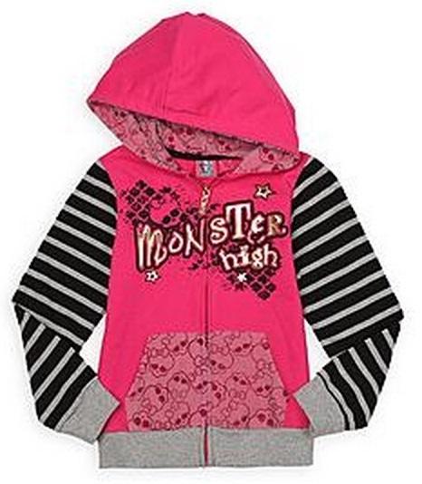 Pink monster hoodie