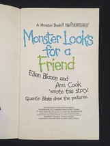 "Vintage 1973 Set of 3 ""Monster"" books from Bowmar image 3"