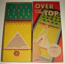 1940s Antique Toy Whitman Game OVER THE TOP No 3911 - $49.99