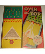 1940s Antique Toy Whitman Game OVER THE TOP No 3911 - $79.99