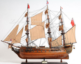 """HMS Surprise Tall Ship Wood Model Boat 37"""" Sailboat seen in Master & Com... - $699.95"""