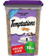 TEMPTATIONS Classic Treats for Cats Creamy Dairy Flavor, 16 Oz Tub - $12.99+