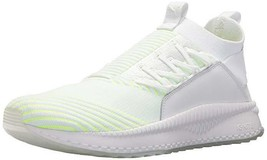 Puma Men's Tsugi Jun PACE Sneaker White-Pale Lime Yellow 9 M - $38.61