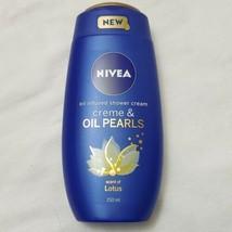 NIVEA Bath Care Shower Crème & Oil Pearl  250ml oil infused smooth skin (y) - $19.75
