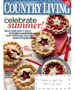 COUNTRY LIVING Magazine - July Issue 2009 - $6.00