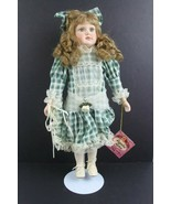 Sugar N' Spice Special Edition Porcelain Doll w/ Stand - $25.21