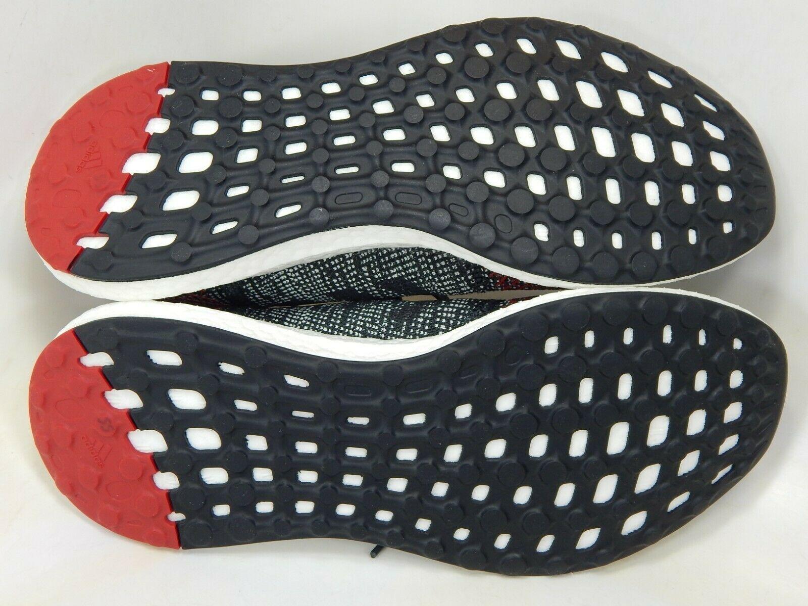 Adidas Pureboost Go Größe 8.5 M (D) Eu 42 Herren Laufschuhe Schwarz/Rot AH2323