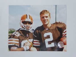 Tim Couch, Kevin Johnson 8x10 Photo Cleveland Browns NFL Hologram - $15.28