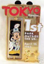 WDW DAVE SMITH TOKYO DL MICKEY LE 2000 SPINNER PIN - $33.85