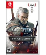 Brand new RPG game Witcher 3 Wild Hunt Nintendo Switch free shipping - $49.90