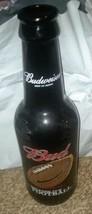 "Budweiser Because It's Football King Pitcher 15"" Glass Beer Bottle 64 oz - $10.00"