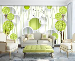 3D Weißer Kreis 243 Fototapeten Wandbild Bild Tapete Familie Kinder - $51.18+