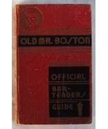 Old Mr Boston Deluxe Official Bartenders Guide 1st Ed 3rd Print 1936 Cotton Burk - €168,58 EUR