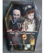 Living Dead Dolls Edgar Allan Poe and Annabel Lee Set - $374.99