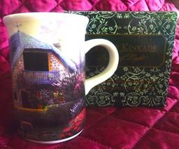 Thomas Kinkade Lilac Cottage Illuminating Mug/Heat Activated - $12.95