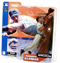 Roberto Alomar New York Mets 2002 McFarlane action figure NIB MLB Series 3 - $40.83