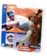 Roberto Alomar New York Mets 2002 McFarlane action figure NIB MLB Series 3 - $40.83