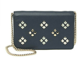 Kate Spade margaux floral leather wallet on a chain Crossbody WOC ~NWT~ ... - $146.52
