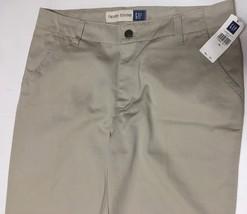 GAP Hipster Trousers Pants Beige Sz 10 image 3