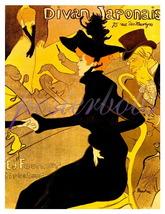 Toulouse Lautrec Divan Japonaise Vintage Giclee CANVAS Print - $19.95