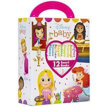 Disney Baby Princess - My First Library Board Book Block 12 Book Set - P... - $18.12