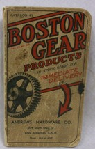 Boston Gear Products Catalog - $31.89