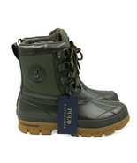 POLO RALPH LAUREN Lowen Bo WPF Men's Leather Boots - Brown/Olive - Size ... - $93.49