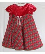 Little Girls Christmas Dress Size 24  Months - $9.95
