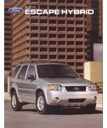 2006 Ford ESCAPE HYBRID sales brochure catalog 06 US - $8.00