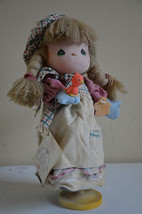Precious Moments 1988 Wind Up Musical Doll Limited Edition Let It Snow W... - $6.99