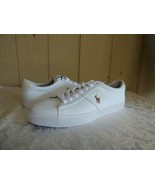 $69.00 Polo Ralph Lauren Men's Sayer Low-Top Sneakers, Canvas, White, 11... - $35.89