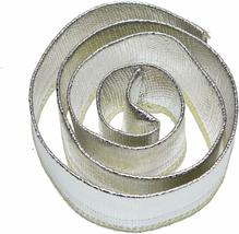 """Heat Shroud Aluminized Sleeving with Hook and Loop Closure 1"""" x 36"""" (3ft) image 3"""