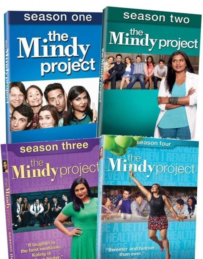 The Mindy Project Complete TV Series Seasons 1 2 3 4 DVD Sets [New]