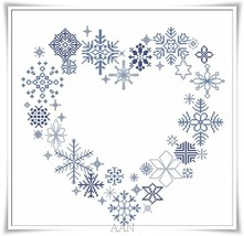 Cour Di Neve cross stitch chart Alessandra Adelaide Needlework - $16.20