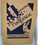 Presenting No Primigenial by Montandon, R. & Wait, Logan - $22.74